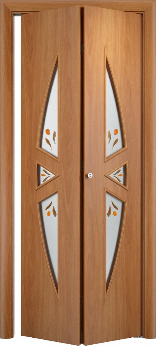 Складные межкомнатные двери фото